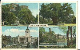 Regno Unito (Inghilterra, Great Britain) Notthingam View: The Castle, Major Oak, Council House, Notthingam University - Nottingham