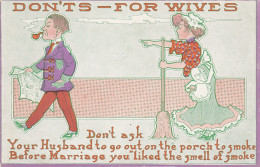 Don'ts - For Wives...Dont Ask Your Husband... , 00-10s - Marriages