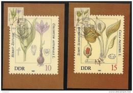 DDR: Maximum Card, Piante Velenose, Poisonous Plants, Plantes Vénéneuses, 3 Scan - Vegetazione