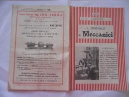 IL GIORNALE DEI MECCANICI N.6  1926 - Libri, Riviste, Fumetti