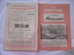 IL GIORNALE DEI MECCANICI N.10  1926 - Libri, Riviste, Fumetti