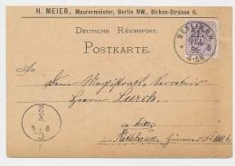 D.-Reich Stempel Beleg -Karte-Berlin    (be7960  ) Siehe Scan - Allemagne