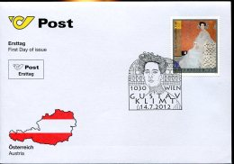9834 Austria,  Fdc  2012,   Gustav Klimt - Sonstige