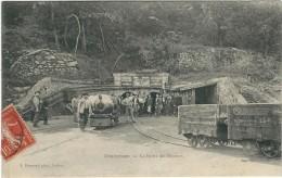 Herault : Graissessac, La Sortie Des Mineurs, Belle Carte Animée - France