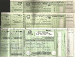 RI72---  ASSEGNI POSTALI,  PEZZI   3, - Assegni & Assegni Di Viaggio