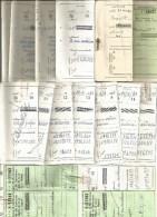 RI73---  ASSEGNI POSTALI,  SOLO TALLONCINI DI ASSEGNI,  PEZZI 30, - Assegni & Assegni Di Viaggio