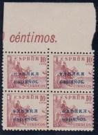 ESPAÑA/SAHARA 1941 - Edifil #51 - MNH ** - Bloque De 4 - Sahara Español