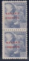 """ESPAÑA -SAHARA 1941- EDIFIL#58t(**)  Con Pie De Imprenta """"SANCHEZ TODA"""" - Sahara Español"""
