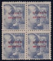 ESPAÑA/SAHARA 1941 - Edifil #58 - MNH ** - Bloque De 4 - Sahara Español