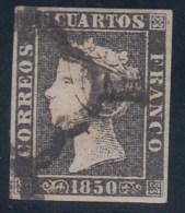 ESPAÑA 1850 - Edifil #1A - VFU - Usati