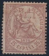ESPAÑA 1874 - Edifil #147 - MLH * - Nuevos
