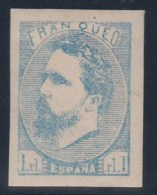 ESPAÑA 1873 - Edifil #156 Sin Goma (*) - 1873-74 Regentschaft