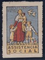 ESPAÑA - GUERRA CIVIL 1936/39 (VIC) - Verschlussmarken Bürgerkrieg