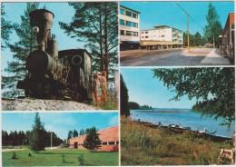 Finlande  :  Suomi , Juankoski  ,   Vues  ( Train) - Finlandia