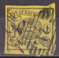 Fre_ Braunschweig - Mi.Nr. 11  - Gestempelt Used - Brunswick