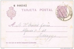 18311. Entero Postal AZPEITIA (Guipuzcoa) 1928. Alfonso XIII Vaquer, Edifil Num 57na - Enteros Postales