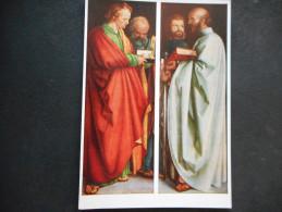 """CP - DURER """"Les Apôtres"""" - Peintures & Tableaux"""