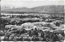 GENEVE - SUISSE -   Palais Des Nations - Mont Blanc Et Salève - RARE - SM - - GE Genève