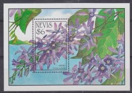 Nevis 1993 Flowering Trees M/s ** Mnh (30311) - St.Kitts En Nevis ( 1983-...)