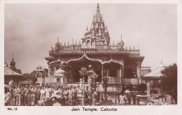 CALCUTTA, Jain Temple, Belle Animation, Trés Nombreux Militaires, Carte Glacée - India