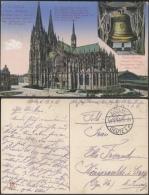 P110 Feldpostkarte 54. Reserve Division AK Kölner Dom An Ella Freund 1916 Stempel Cöln-Deutz Echt Gelaufen - Guerre 1914-18
