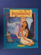 M#0Q27 ALBUM FIGURINE POCAHONTAS Panini Ed.1995 Dal FILM DISNEY/ CMPLT - Edizione Italiana