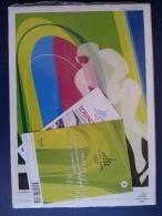 M#0Q31 POSTER XX GIOCHI OLIMPICI INVERNALI TORINO 2006/HOCKEY SU GHIACCIO/PATTINAGGIO - Giochi Olimpici