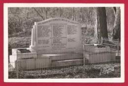 CPSM Luzancy - Monument Commémoratif De La Bataille Des 12 Et 13 Juin 1940 - Autres Communes