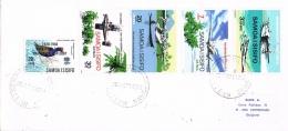BR 812 SAMOA BRIEF YVERT 227 + LP3/6  ZIE SCAN - Samoa