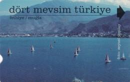 Turkey, N-168b, Four Seasons Turkey, Mugla, 2 Scans.     Plasteknik - Turquie