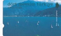 Turkey, N-168, Four Seasons Turkey, Mugla, 2 Scans.     Abacicard - Turquie