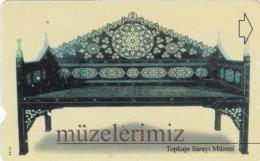 Turkey, N-191, Istanbul Topkapi Museum, 2 Scans. - Turquie