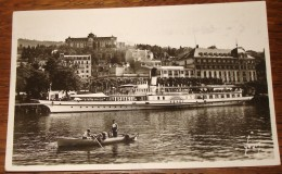CP 74 - EVIAN-LES-BAINS - Le Port Vers Le Royal Hôtel - Evian-les-Bains