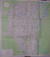CARTA TOPOGRAFICA - TORINO - ENEL - 1961 - Carte Topografiche