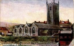 MISCELLANEOUS ART - CHURCH, ST IVES Art301 - St.Ives
