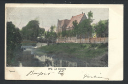 CPA - HAL - HALLE - La Cascade - Couleur 1901   // - Halle
