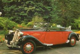 Traction Avant 1939 Cabriolet Citroen Voiture Auto à L'hotel Les Violettes à Thierenbach - PKW
