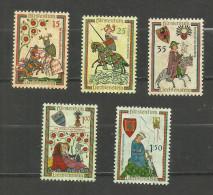 Liechtenstein N°359 à 363 Neufs** Cote 14 Euro - Ungebraucht