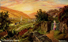 MISCELLANEOUS ART -  THE GOLDEN VALLEY, CHALFORD Art322 - England