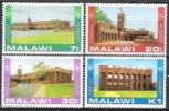 Malawi 1982 Bildung Ausbildung Schulen Universitäten Akademien Kamuzu-Akademie Bauwerke Gebäude, Mi. 376-9 ** - Malawi (1964-...)