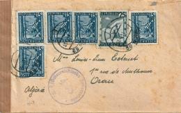 AUTRICHE CENSURE Pour ORAN - 1945-.... 2de Republiek