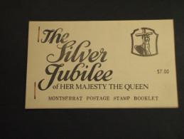 MONTSERRAT - LIBRETTO 1977 DA 7 D., THE SILVER JUBILEE - NUOVI(++) - Montserrat