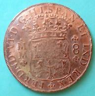 Mexique Mexico - Pièce De Monnaie 8 Reales 1756 COPIE - Messico