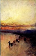 MISCELLANEOUS ART - GOLDEN SUNSETS -  PROFESSOR VAN HIER Art342 - Non Classés