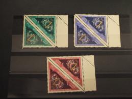 LIBYA - 1963 FIERA 3 VALORI X 2 - NUOVI(++) - Libia