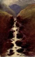 MISCELLANEOUS ART - ROCKS AND WATERFALLS -  PROFESSOR VAN HIER Art343 - Unclassified