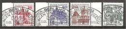 BRD 1978 - Michel 996,997,998,999 O !!! - Oblitérés