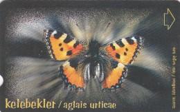Turkey, N-245, Butterflies, Aglais Urticae, 2 Scans. - Turquie