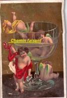 Chromo 100,000 PALETOTS Borddeaux 33 - Absinthe - Scans  Recto Verso - Chromos