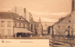 "04456 ""MALINSE - RUE PORTE DE BRUXELLES"" ANIMATA. CART NON SPED - Belgio"